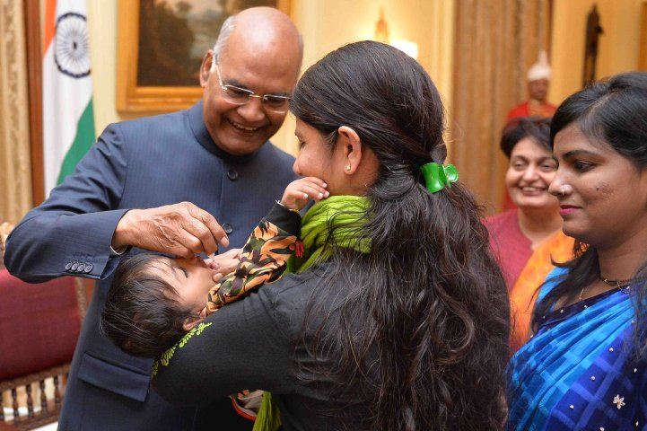 President to launch Polio National Immunisation Day on 30 Jan