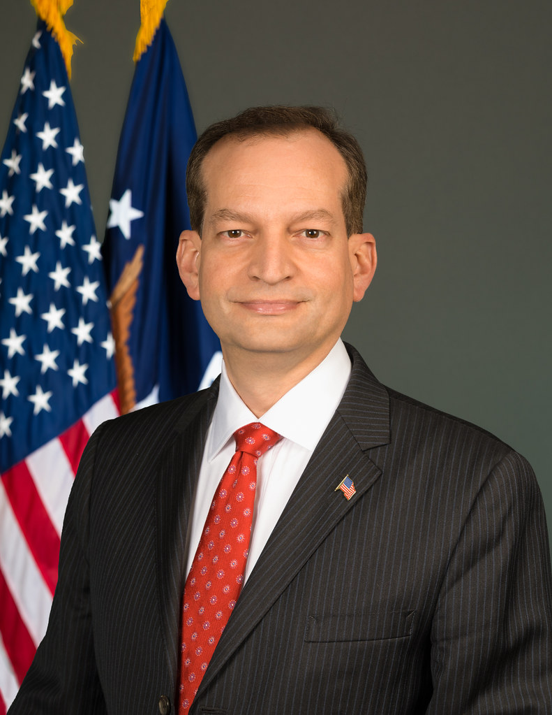 US Labor Secretary Alexander Acosta steps down