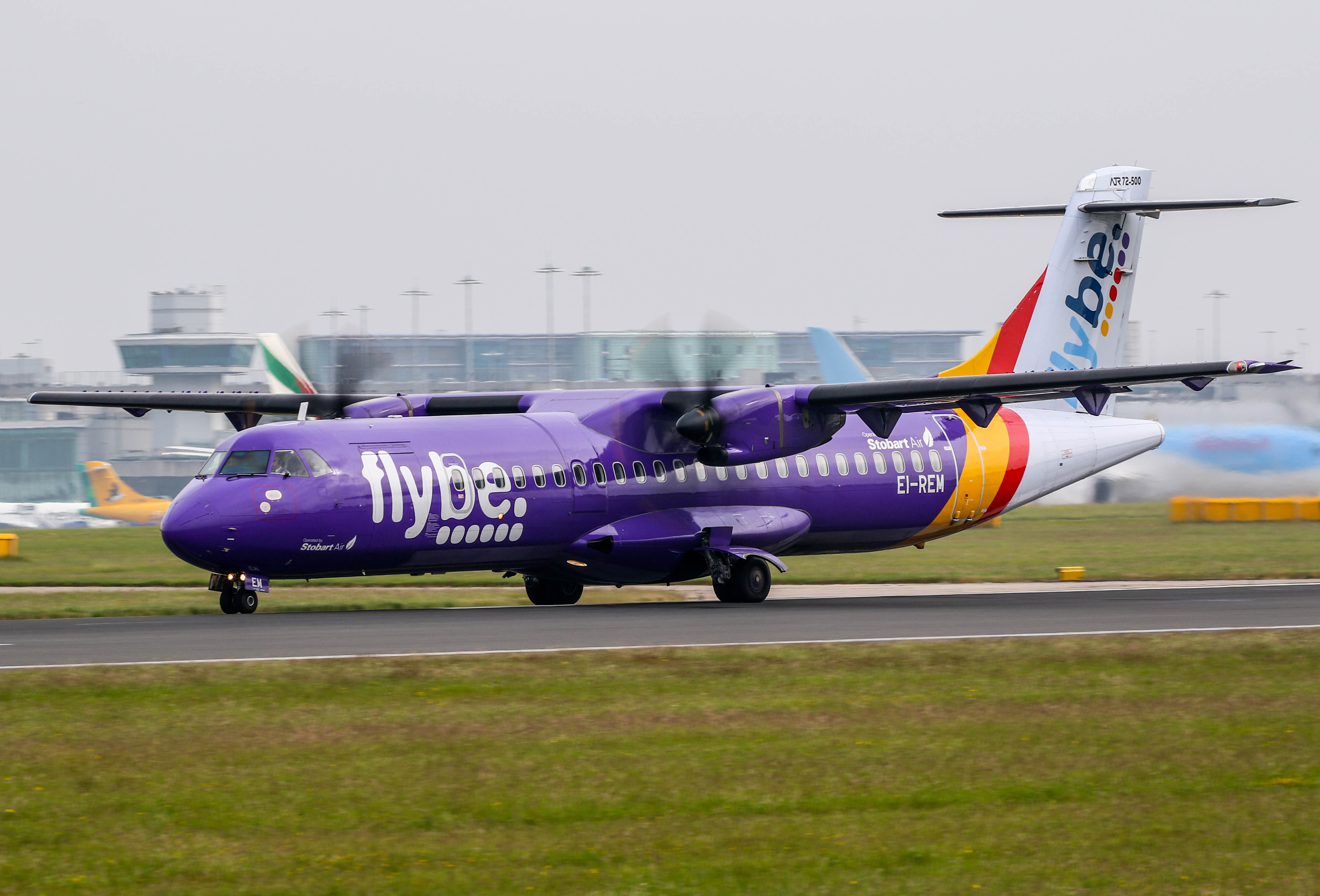 UPDATE 3-UK's Johnson says Flybe important for transport links amid rescue talks