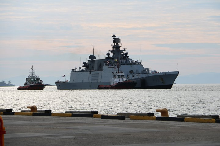 Indian Navy arrives in Indonesia to participate in 3rdexercise Samudra Shakti