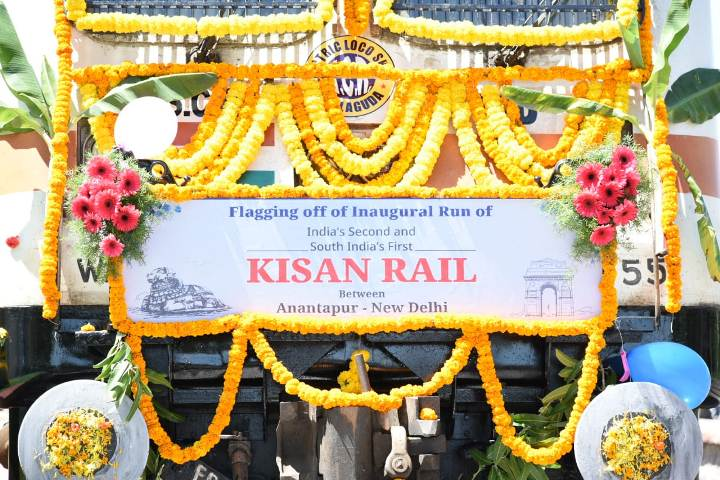 Northeast's first Kisan Rail train flagged off from Tripura