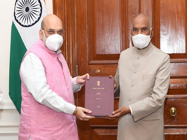 Shah presents parliamentary committee's report on Official Language to President Kovind