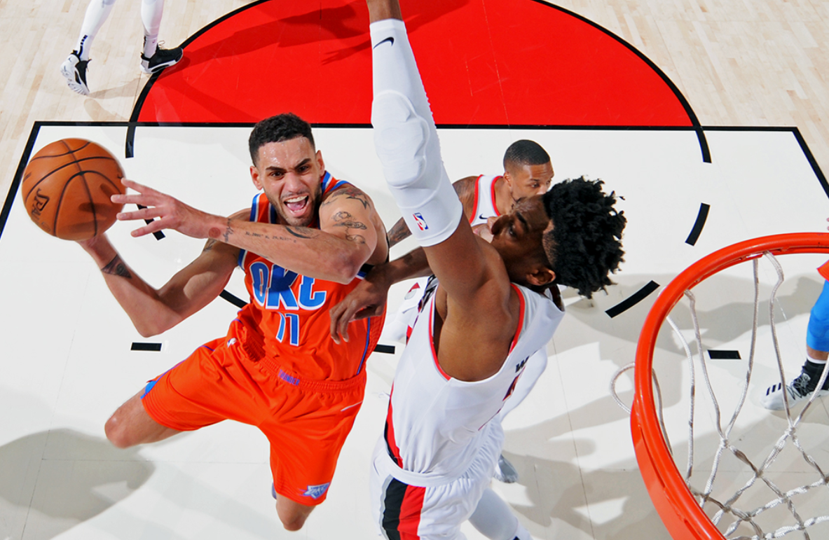 Paul, Thunder pull away, defeat Nuggets