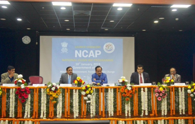 National Clean Air Programme launched by Dr Harsh Vardhan in New Delhi