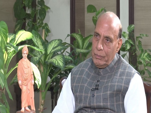 "Befitting reply if any ""superpower"" hurts national pride: Rajnath Singh"