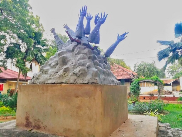 Sri Lanka's Jaffna University war memorial removed, Tamil Nadu CM condemns move