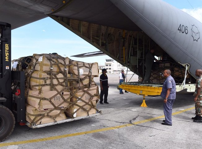 Defence Force departs to Malawi with relief items donated by South Africans