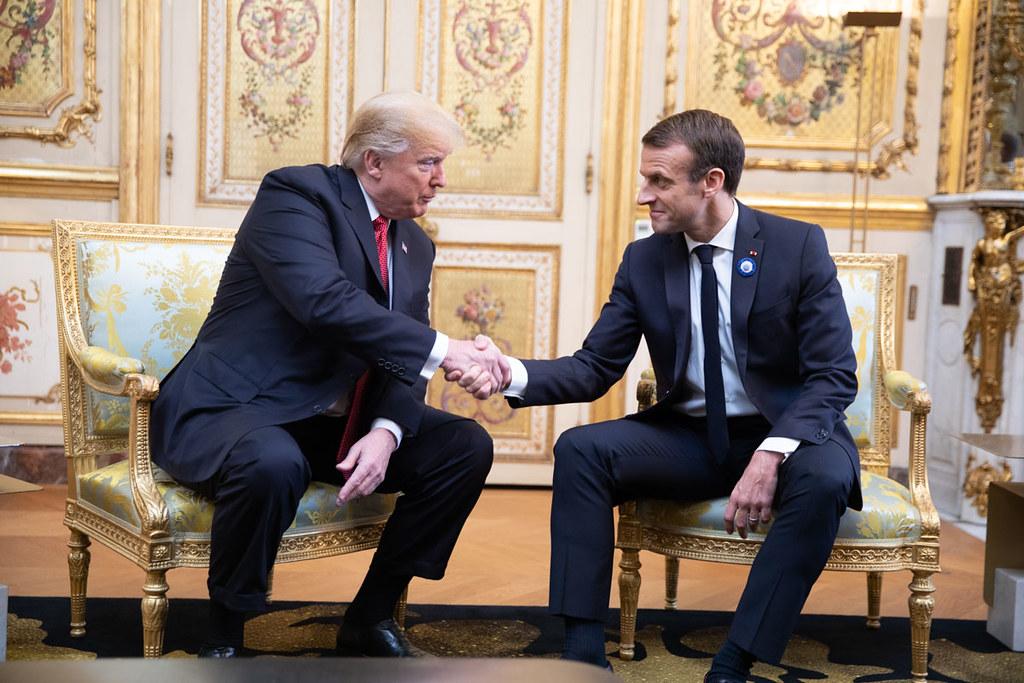 Let's tree again: Macron offers Trump replacement 'friendship' oak