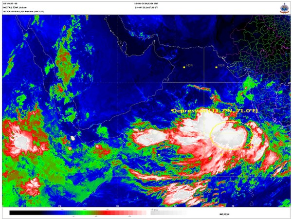 Depression over southeast and east central Arabian Sea to intensify further