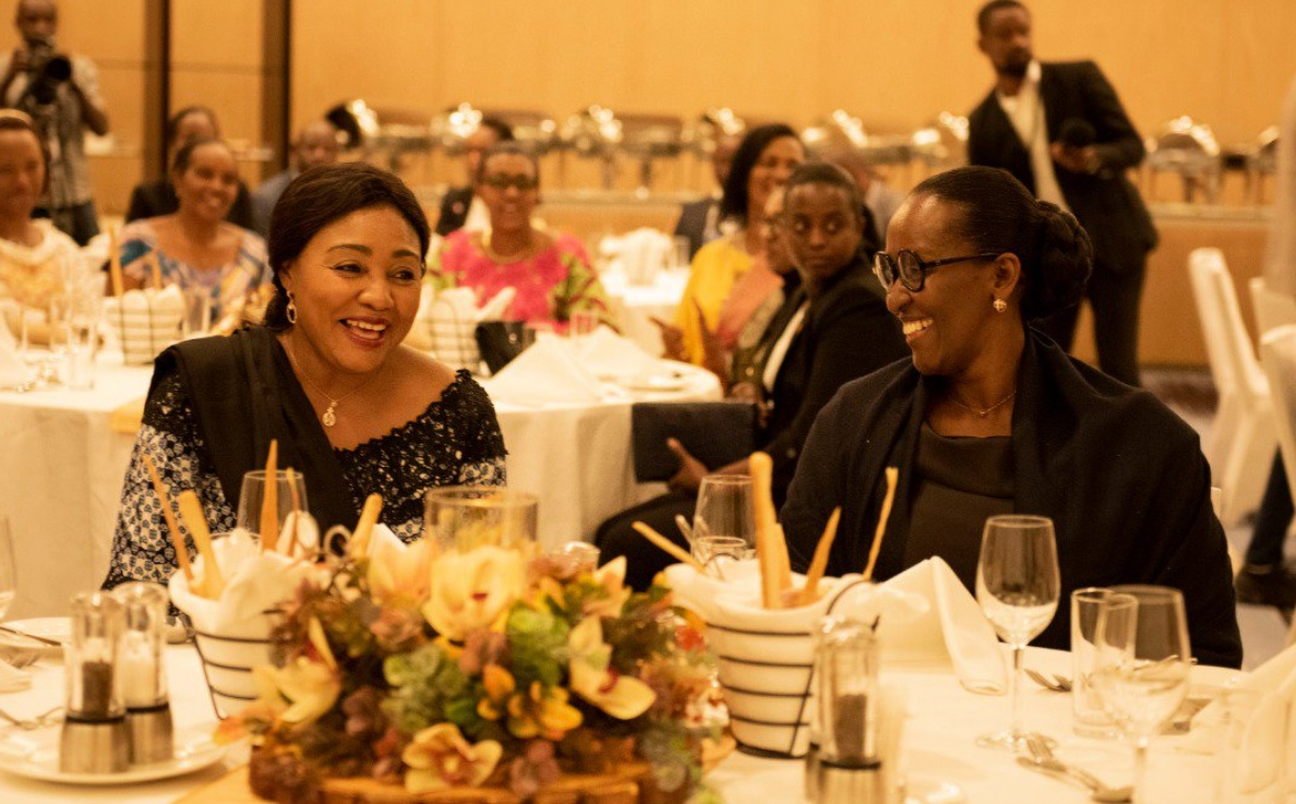 Jeannette Kagame, Denise Tshisekedi vow to improve citizens' welfare in Kigali