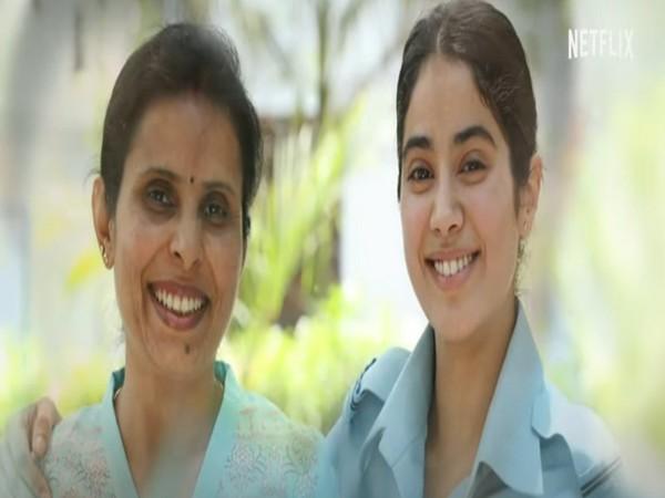 Real Gunjan Saxena Gives Beautiful Response To Teaser Of Her Biopic Starring Janhvi Kapoor Entertainment