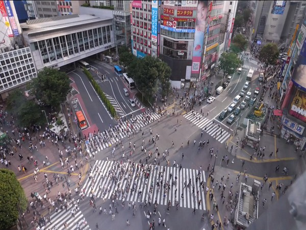 Shibuya scramble crossing - a popular attraction among tourists in Japan