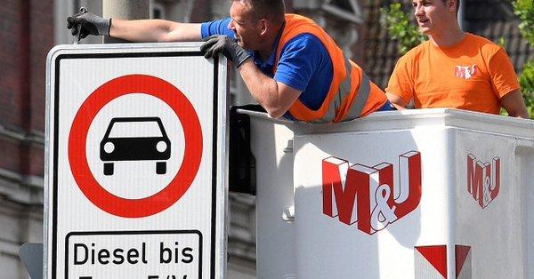 Germany diesel ban: Decision on diesel hardware retrofits in a few days