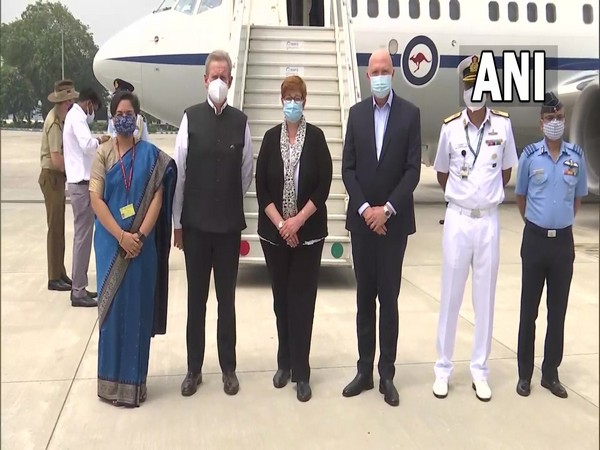 Australian ministers arrive in India for '2+2' ministerial dialogue