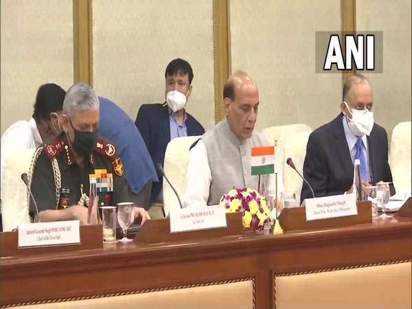 Rajnath Singh holds delegation-level talks with Australian counterpart
