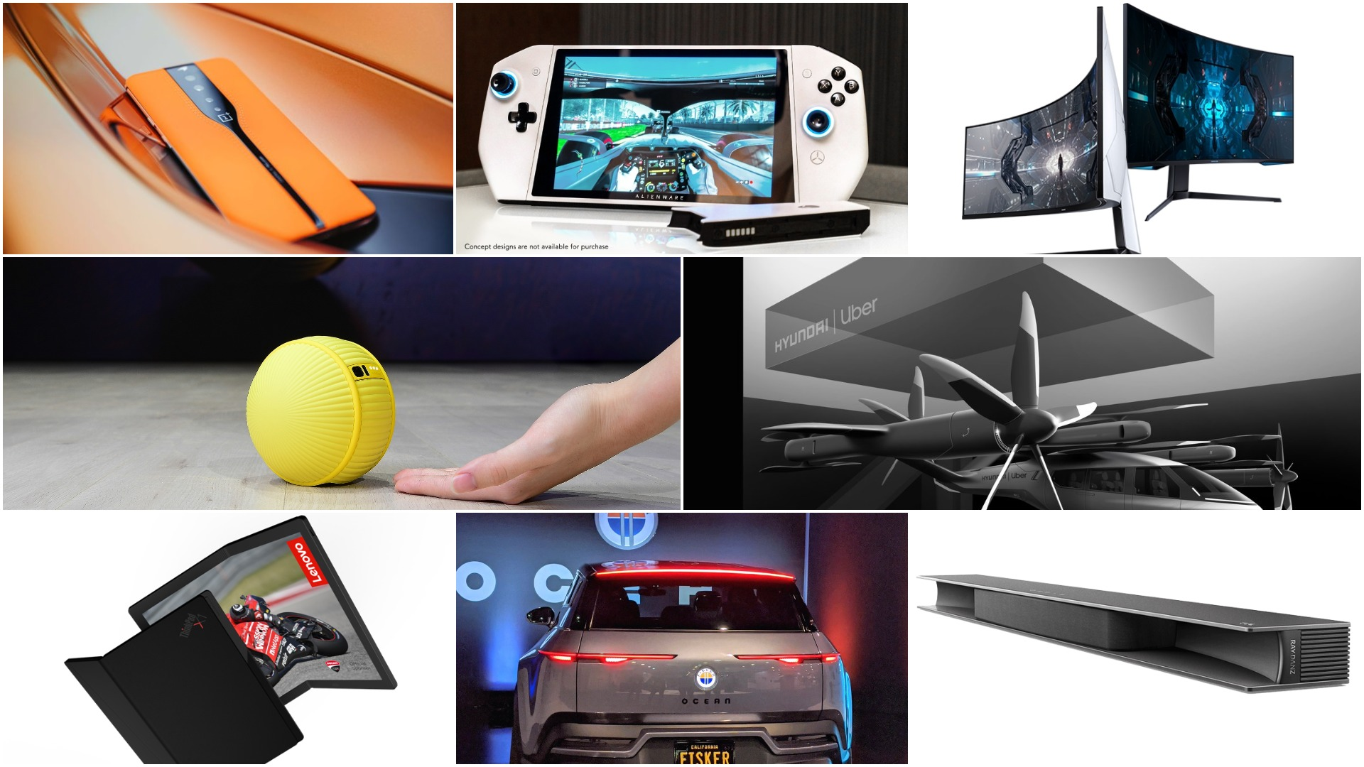 Best of CES 2020: From the world's first DQHD gaming monitor to foldable PC
