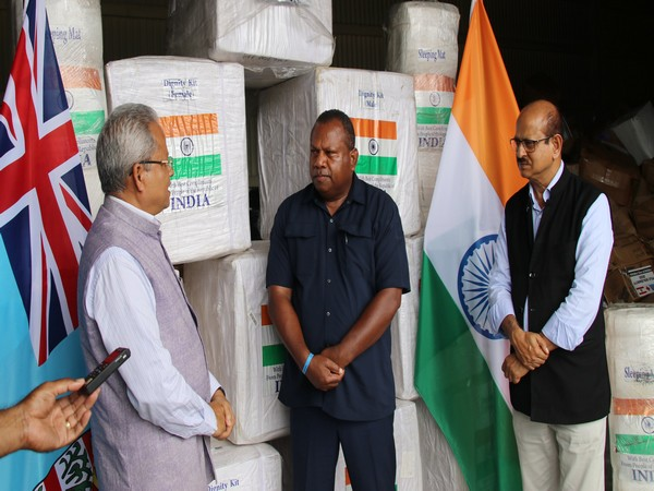 India delivers relief materials to Fiji for cyclone-affected people