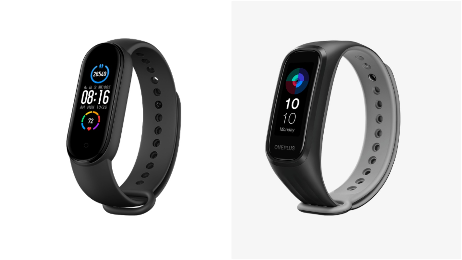 OnePlus Band vs Mi Band 5: Price and specs comparison
