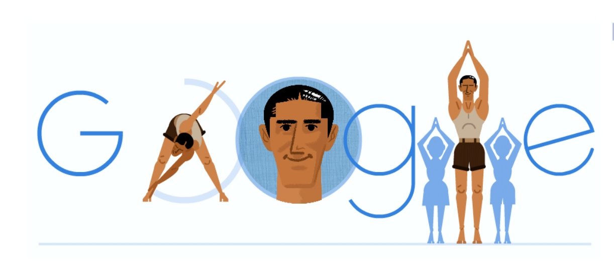 Fredy Hirsch: Doodle on athlete popular for helping Jewish children at concentration camp