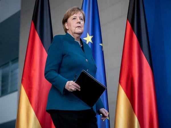 Germany's Merkel wishes Deutsche Bank a good future