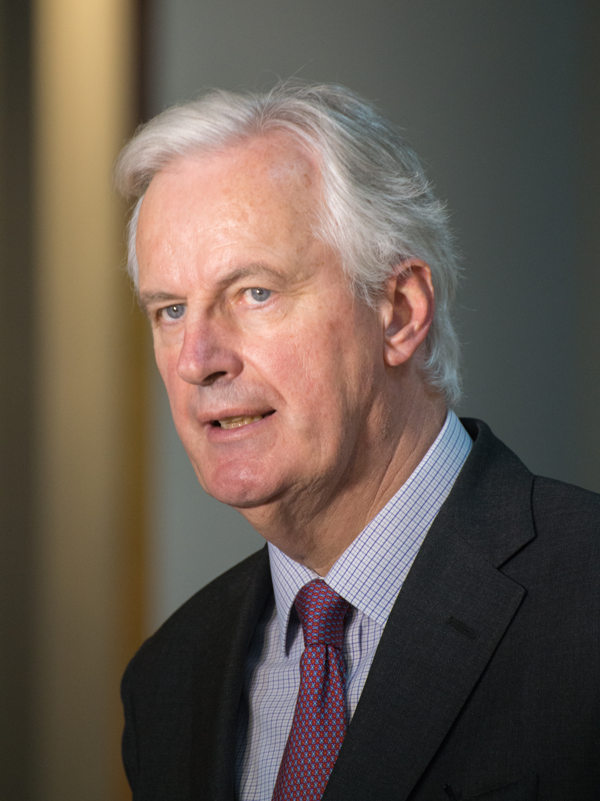 EU's Barnier wishes Britain's Johnson 'a speedy recovery'