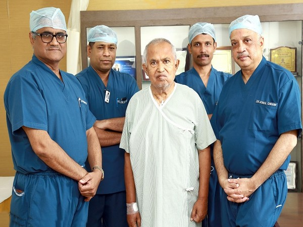 Medica Hospital brings a smile to an elderly man: TAVR - A non-surgical procedure offers the cure