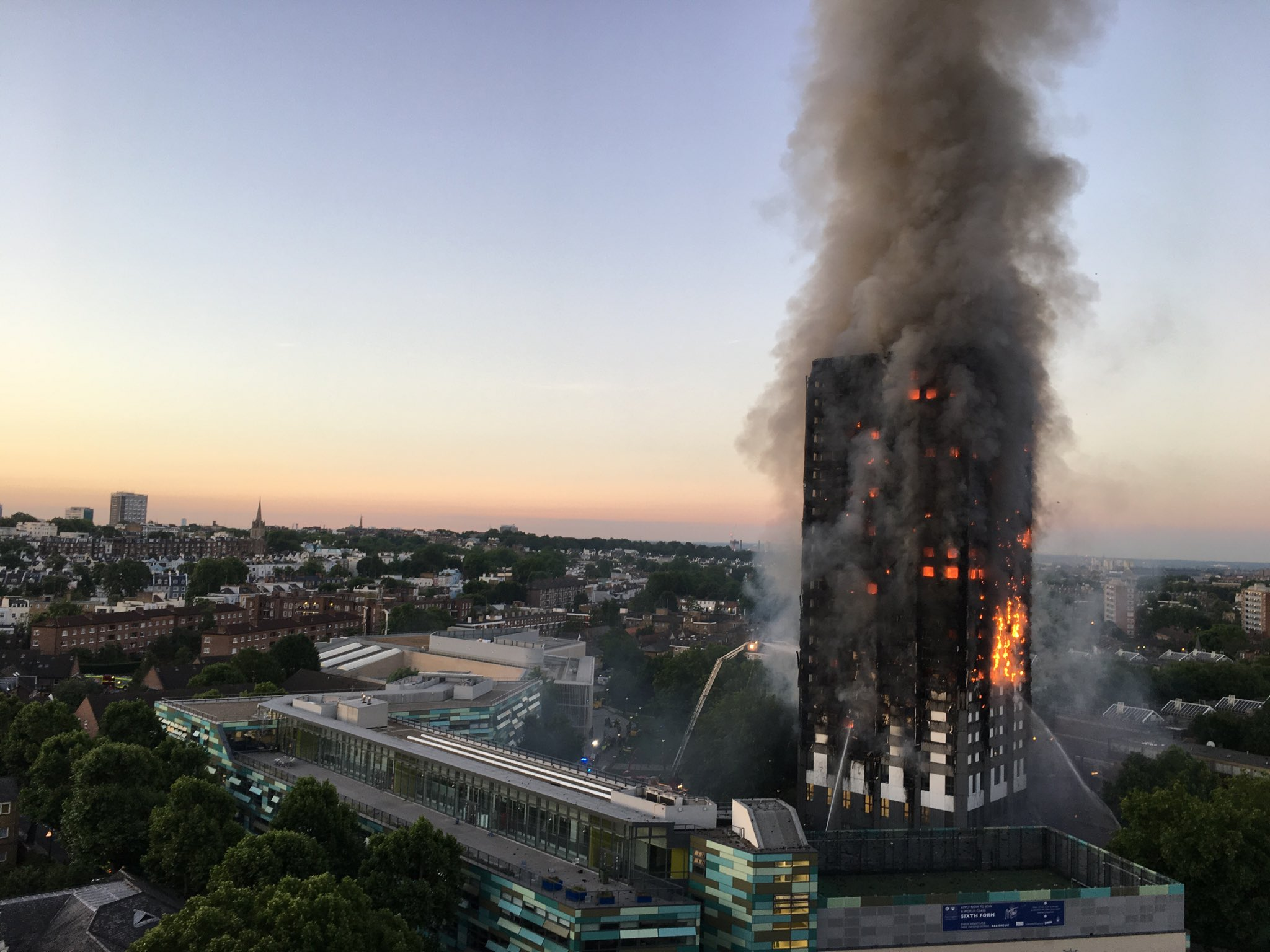 U.S. companies sued over London's deadly Grenfell Tower fire