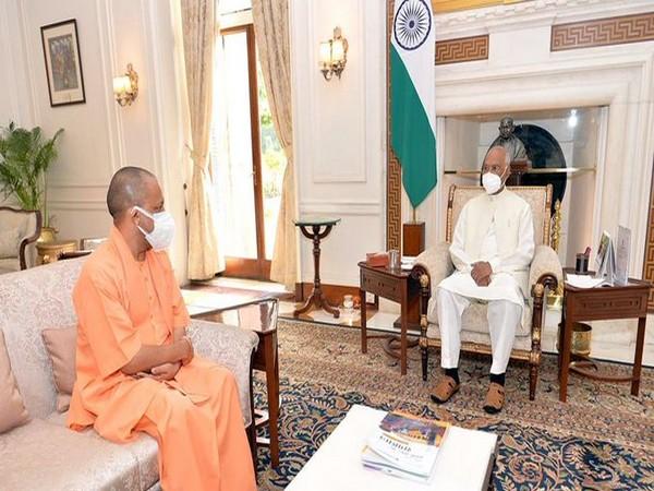 Uttar Pradesh CM calls on President Kovind in Delhi