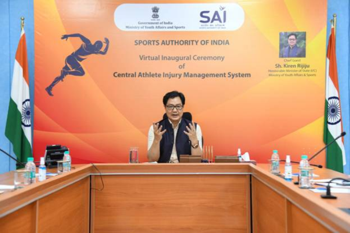 Kiren Rijiju launches CAIMS to provide best sports injury management support