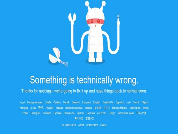 Twitter suffers widespread outage across globe, shares down