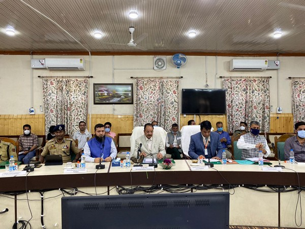 MoS Ajay Bhatt visits J-K's Kupwara, holds interactions with orchardists, youth club, PRIs