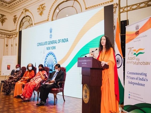 American born Sadhvi Bhagawati Saraswati shares her experience of spirituality