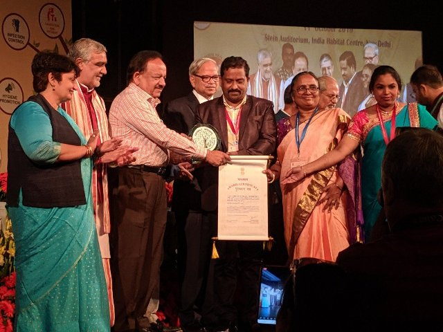 Kayakalp award makes people inspiration towards swachhta: Dr. Harsh Vardhan