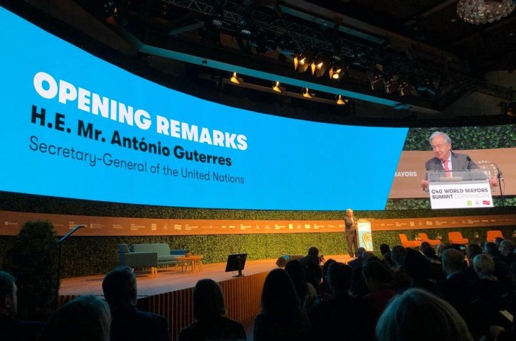 Urban citizens look to mayors to make cities haven, UN chief says at C40 Summit
