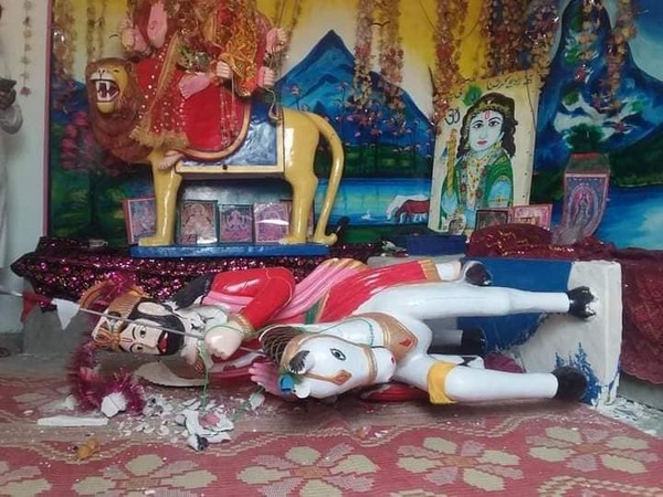Another Hindu Temple vandalised in Pakistan