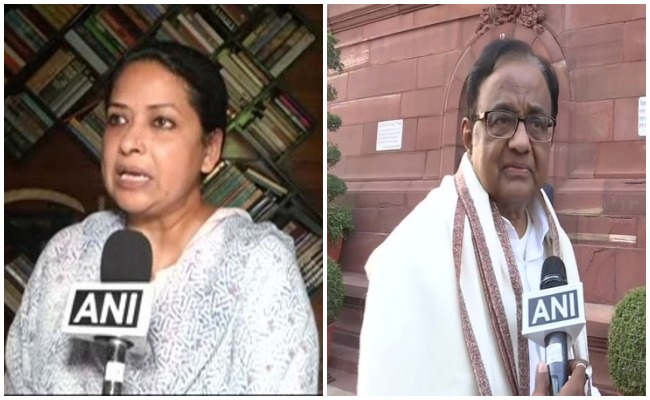 Has Cong outsourced task of defeating BJP to state parties, Sharmistha asks Chidambaram