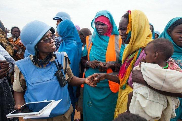 Bangladesh peacekeepers hold free medical campaign for returnees at Bazia-Jedid