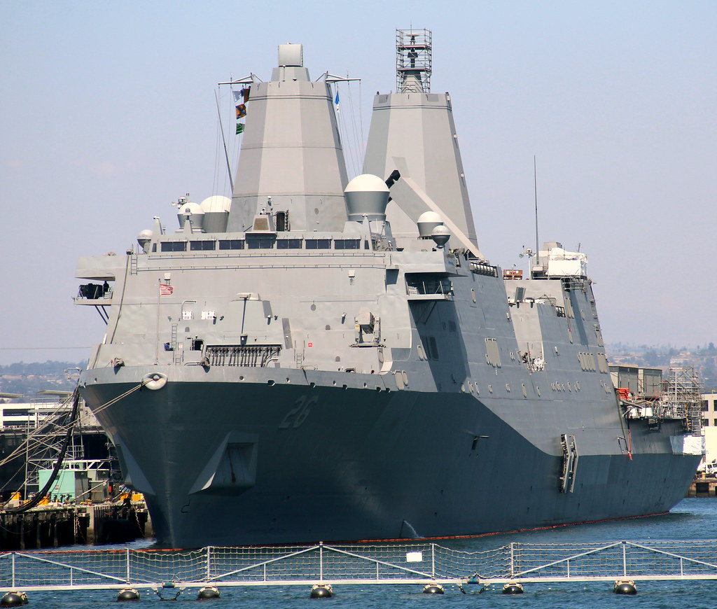 US Navy ship reaches Visakhapatnam for a four-day port visit