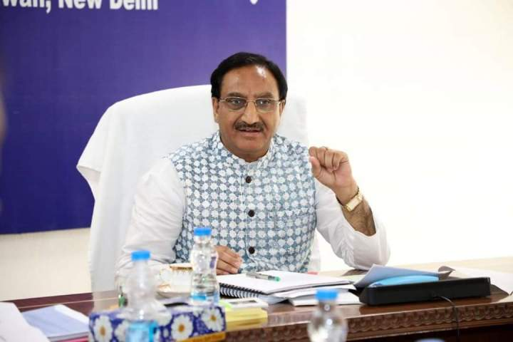 Union HRD Minister stresses on importance of creating Sanskrit-speaking villages
