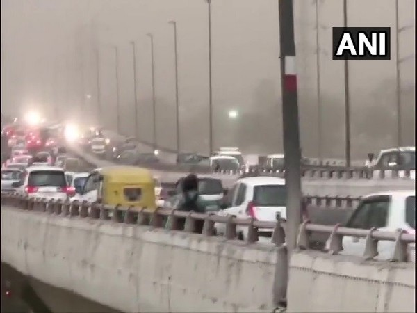 Delhi airport's flight operations suspended for around 35 minutes due to severe dust storm