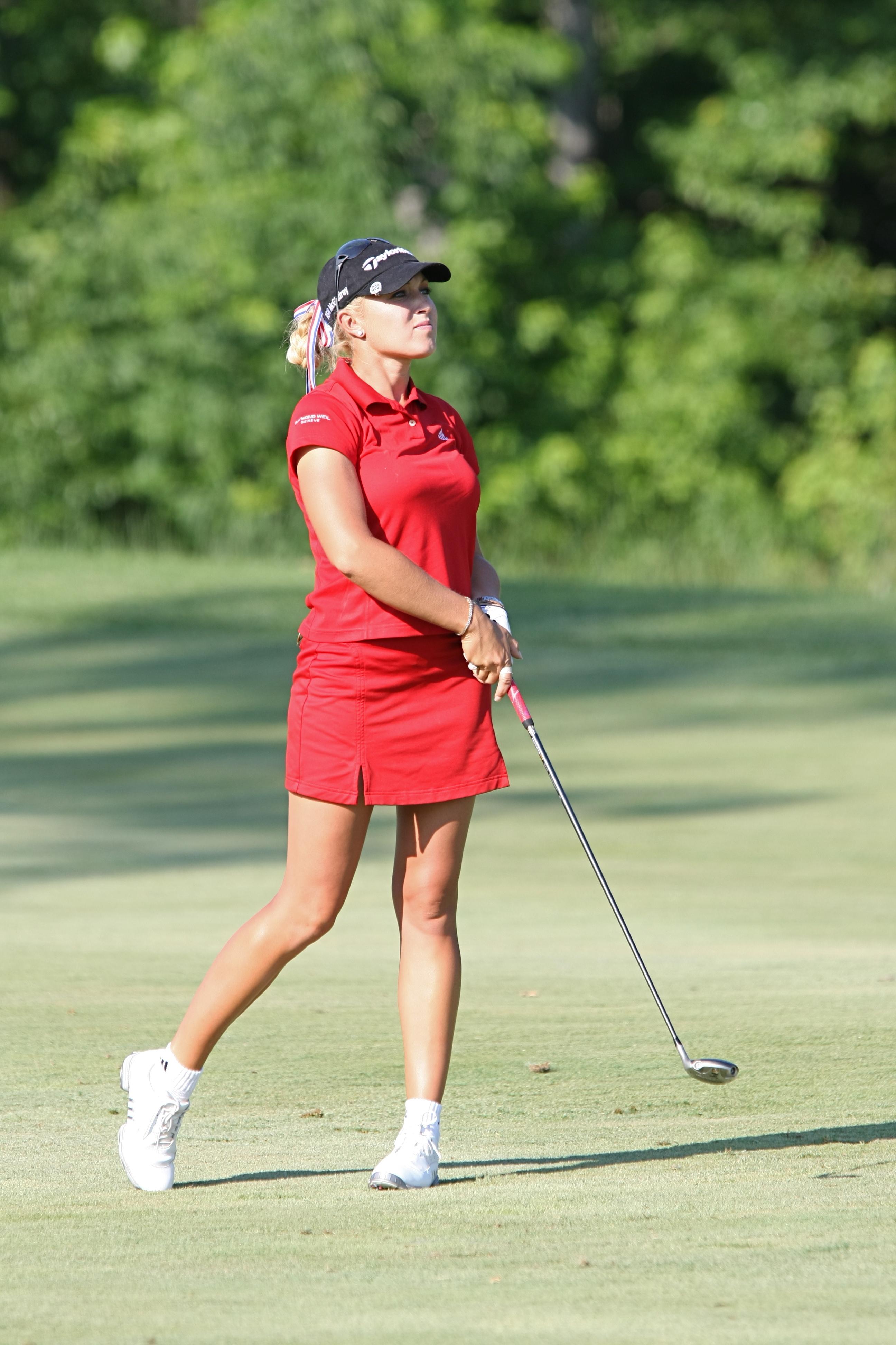 Kang takes 1-stroke lead in LPGA Tour event at Lake Merced