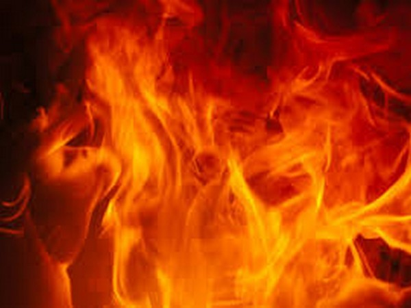 Major fire at grain market shed in Ambala