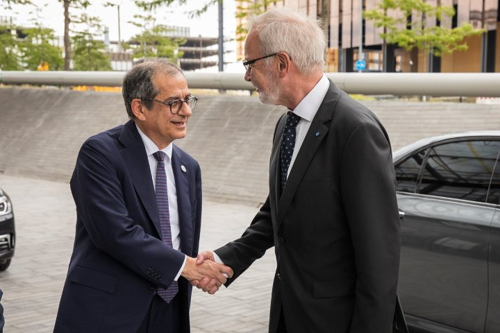 Italy's Minister of Economy & Finance meets with EIB President and Vice-President