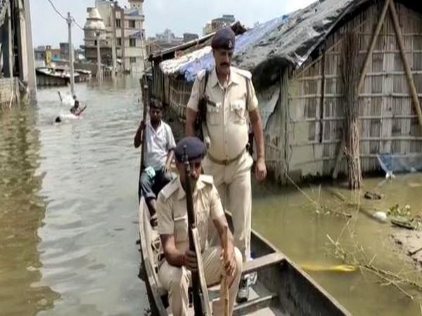 Flood water enters Ahiyapur police station in Bihar's Muzaffarpur
