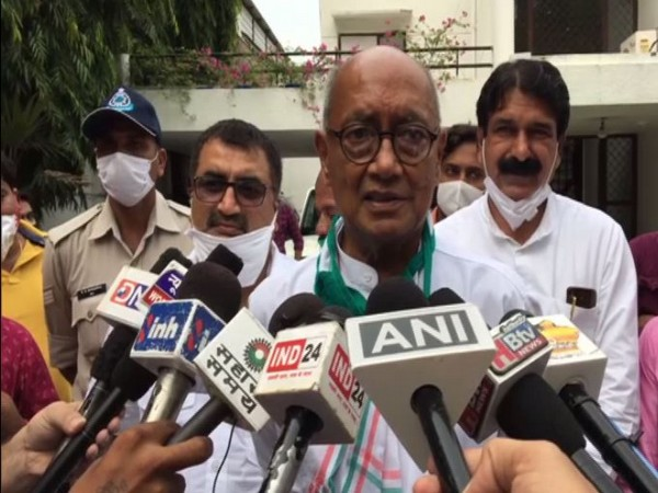 10 Congress leaders including Digvijay Singh booked for violating govt orders amid COVID-19 pandemic
