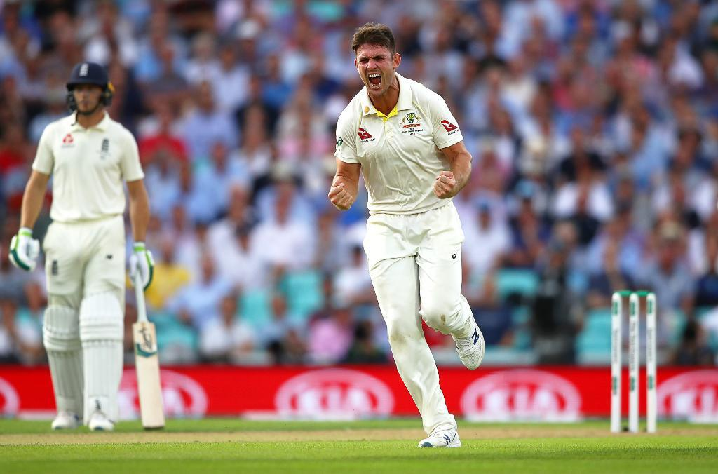 Cricket-England all out for 294 as Marsh takes five wickets