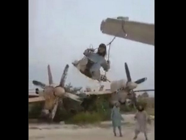 Chinese senior official mocks Washington, shares video of Taliban using US military plane as toy
