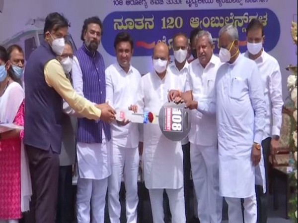 Karnataka CM Basavraj Bommai inaugurates 120 ambulances at Vidhana Soudha