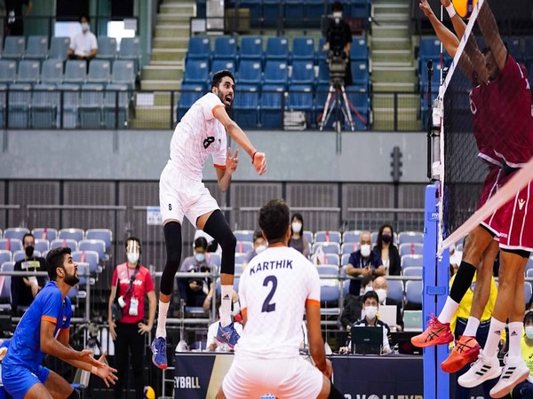 Asian volleyball: Indian men's lose opening match against Bahrain