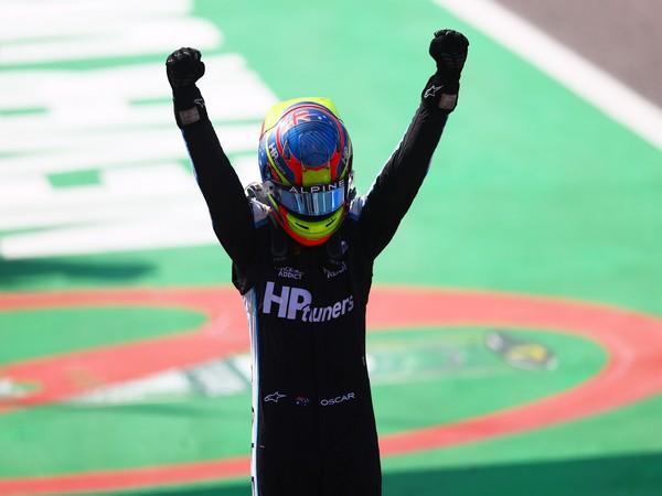 F2: Oscar Piastri dominates Guanyu Zhou to win at Monza